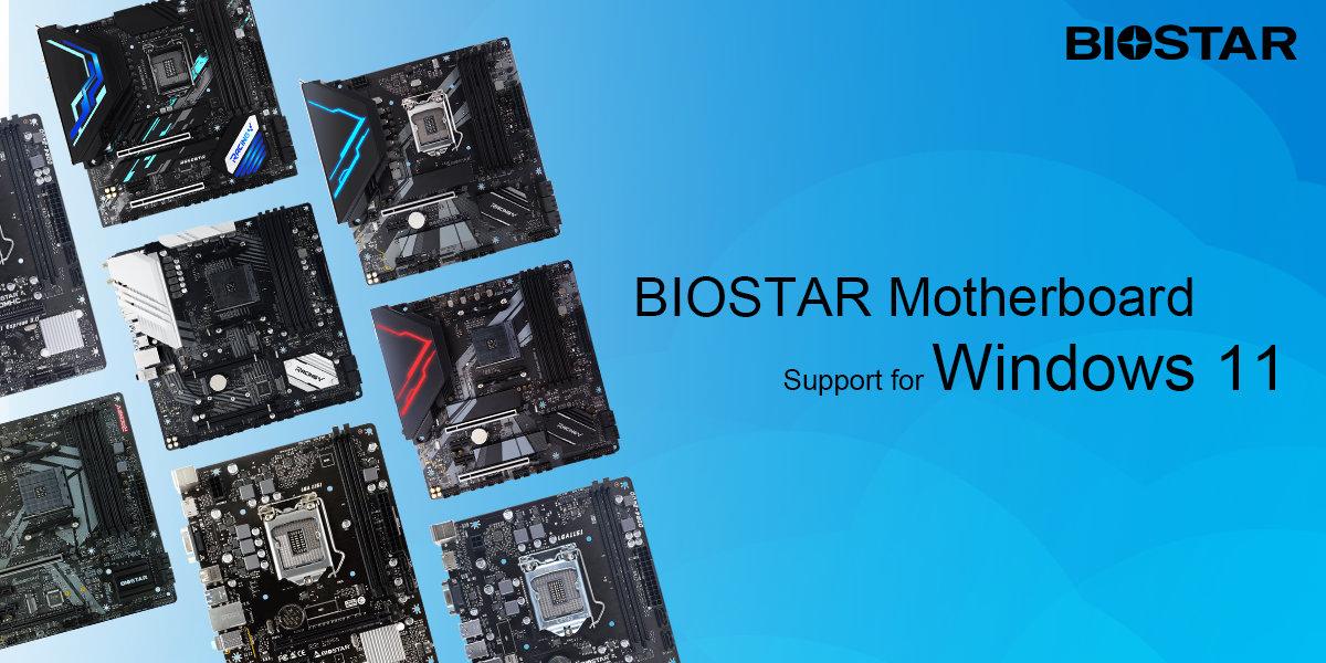 Biostar рассказала, какие матплаты совместимы с Windows 11