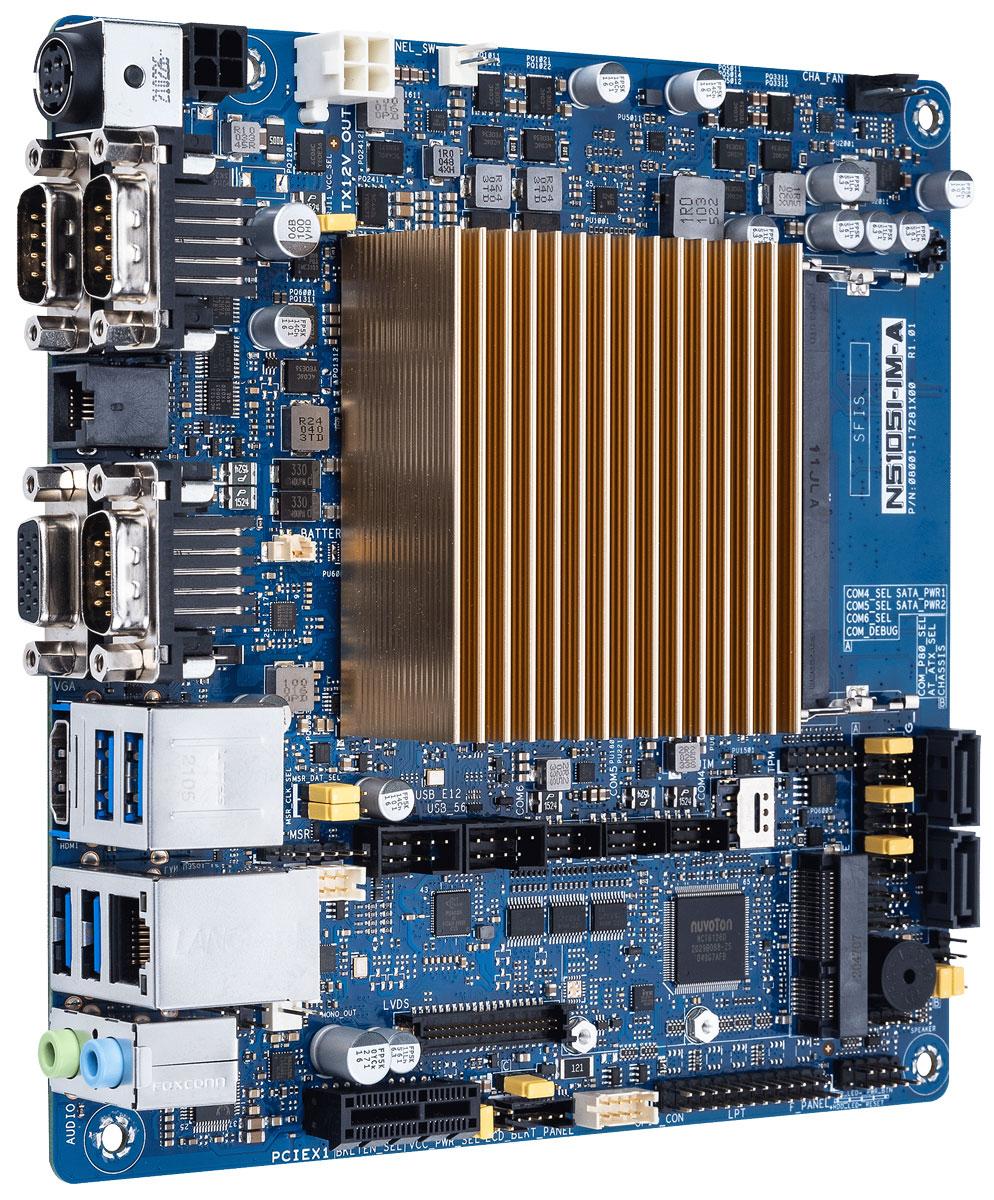 ASUS представила плату N5105I-IM-A на базе Celeron N5105