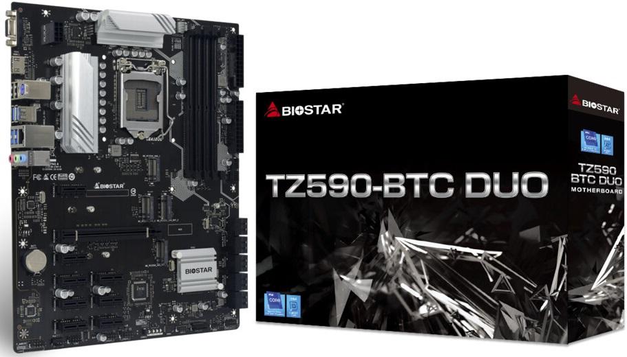 Biostar TZ590-BTC Duo