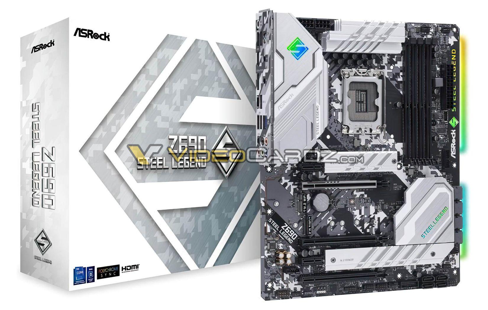 Знакомимся с платами ASRock LGA1700/Z690 для процессоров Core 12-го поколения