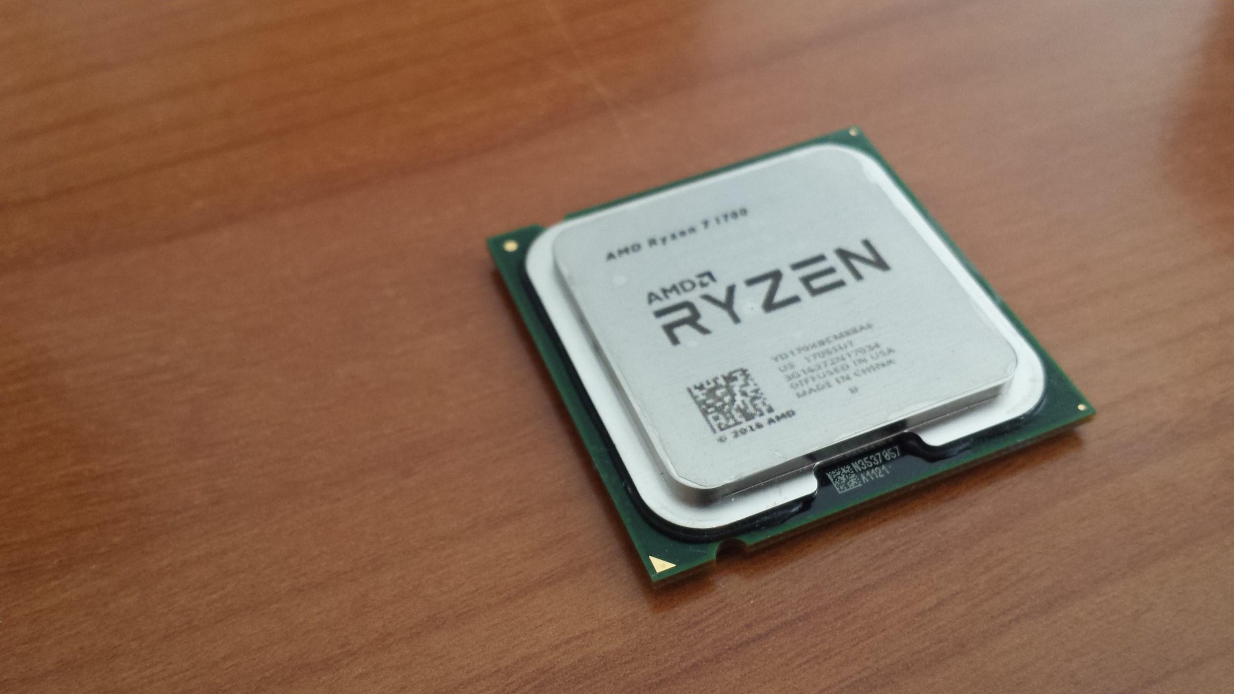 Впродаже замечены поддельные AMD Ryzen 7, сделанные изCeleron