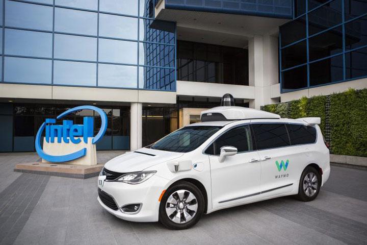 Автоновости: Waymo иIntel официально стали партнерами посозданию «беспилотника»
