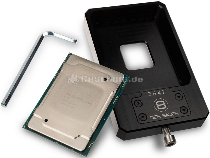 Der8auer выпустил инструмент для «скальпирования» Intel Xeon W-3175X