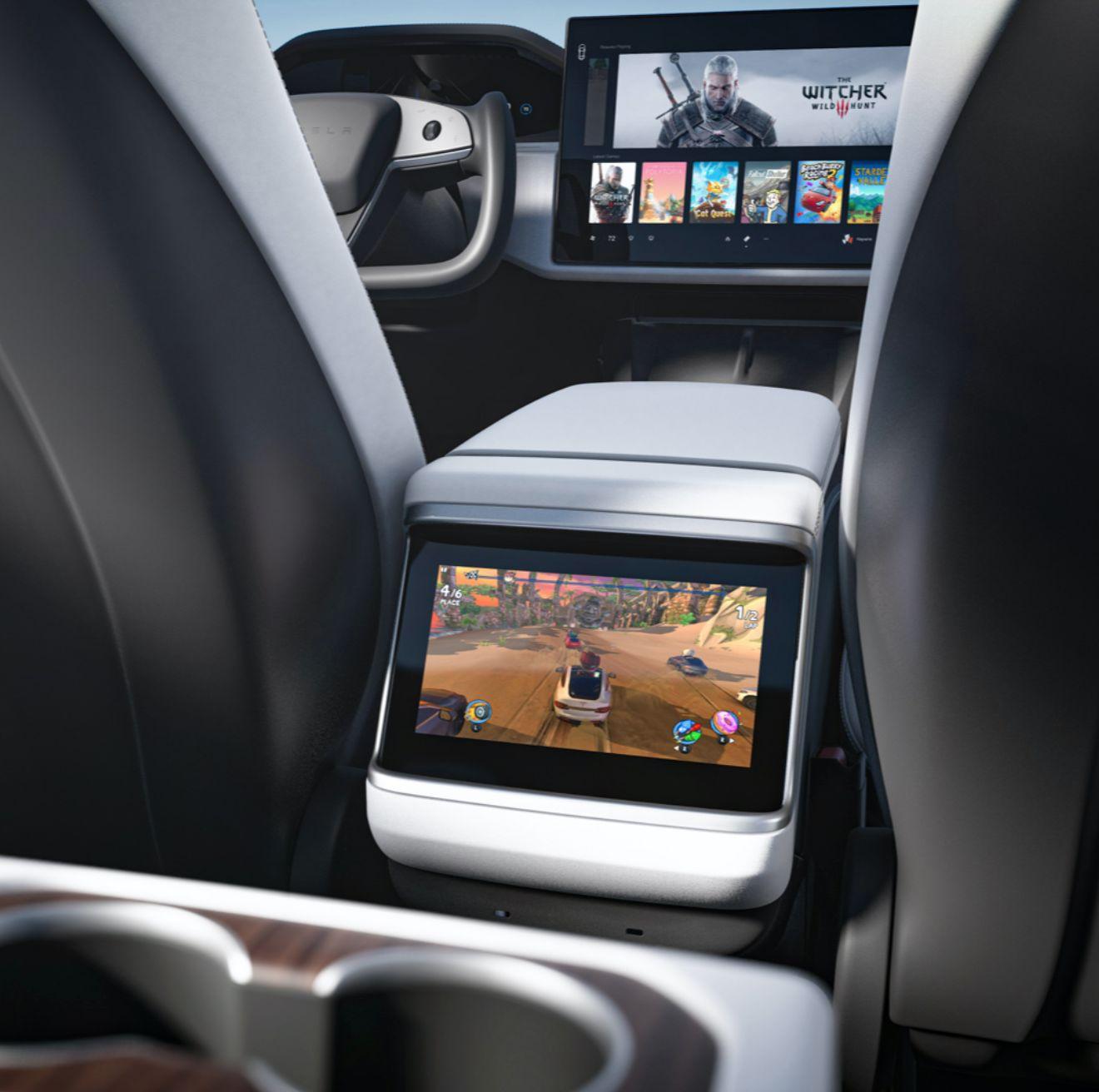 AMD поставит информационную систему для Tesla Model S и Model X