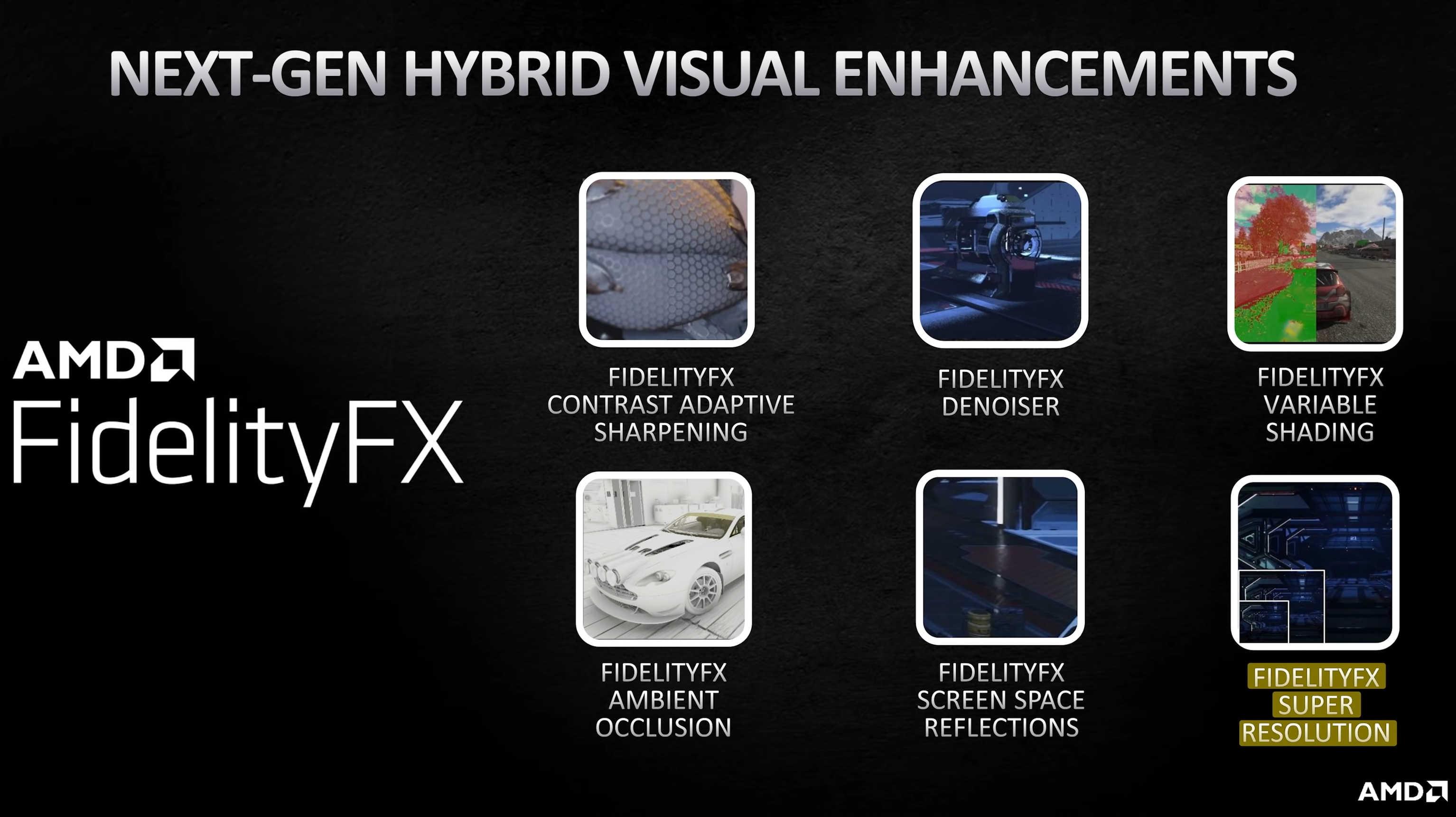 AMD FidelityFX Super Resolution будет запущена одновременно для карт Radeon и игровых консолей