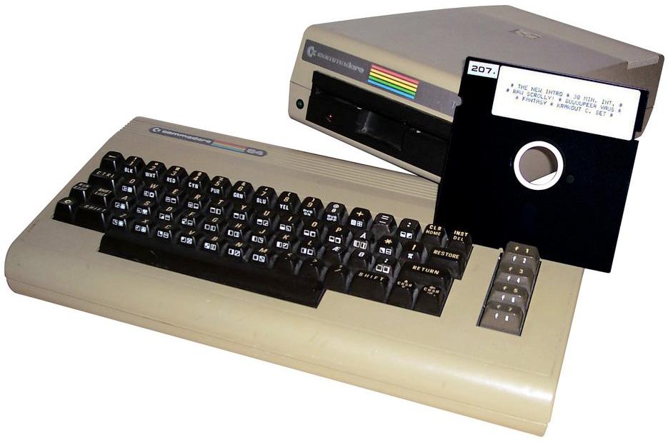 Компьютер Commodore 64 был модифицирован для майнинга Bitcoin