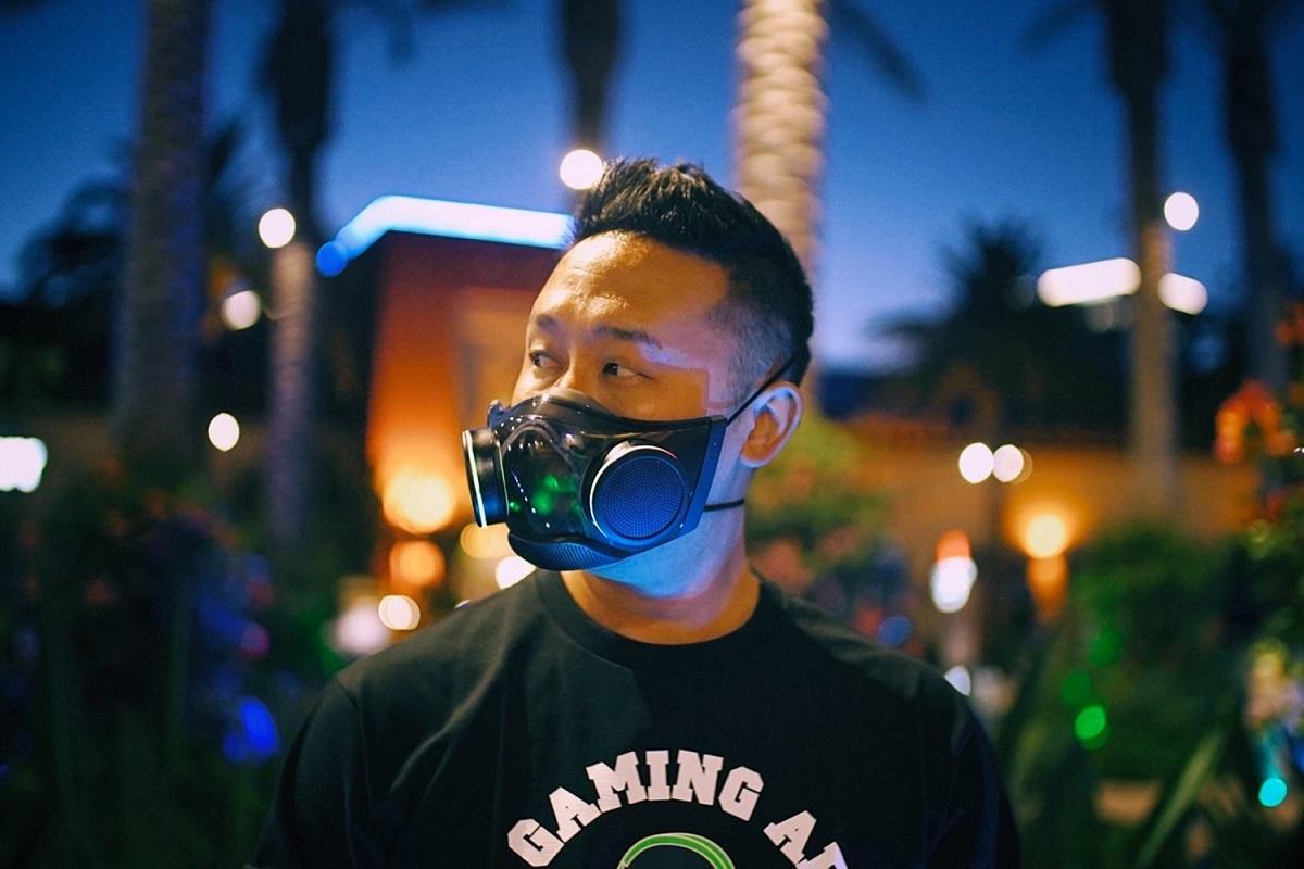 Защитная маска с RGB-подсветкой Razer Zephyr выйдет в следующем квартале