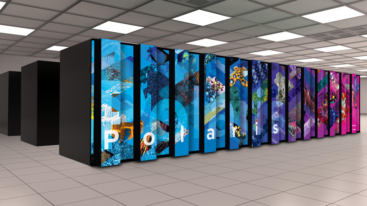 Суперкомпьютер Polaris сочетает тысячи AMD EPYC 7532 и Nvidia A100