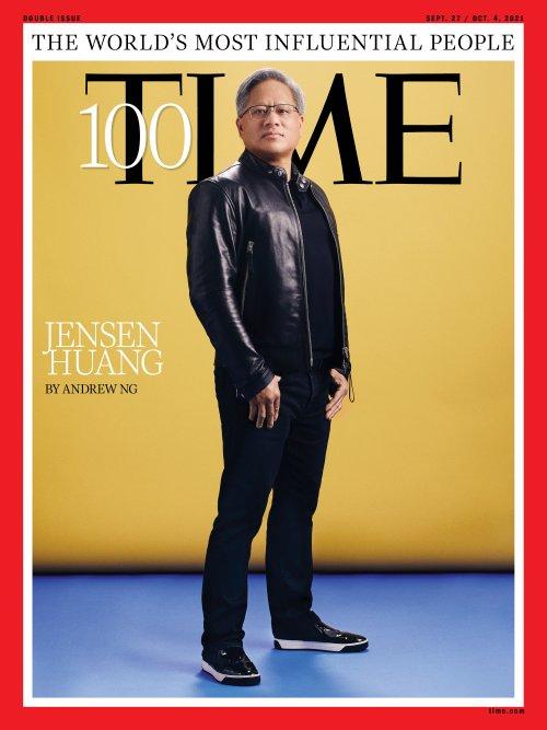 Дженсен Хуанг вошёл в список самых влиятельных людей 2021 года по версии Time