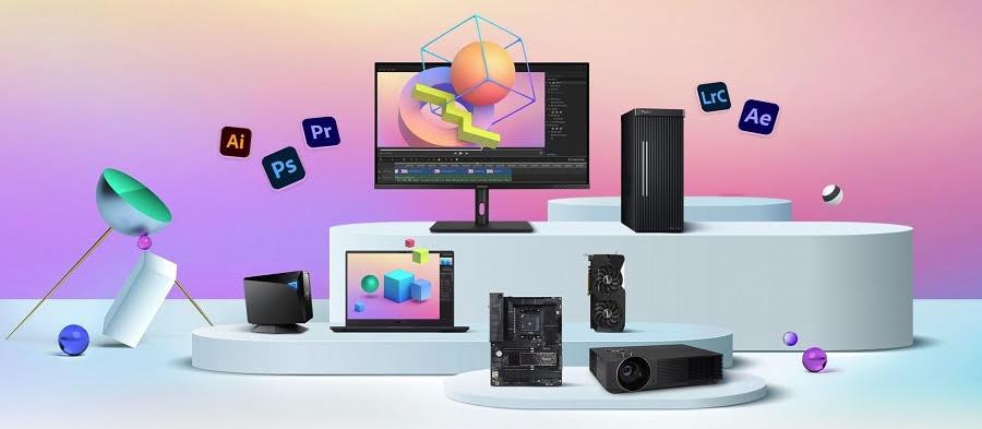 ASUS дарит подписку на Adobe Creative Cloud с избранными продуктами