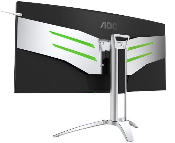 Представлен изогнутый игровой монитор AOC AGON споддержкой NVIDIA G-SYNC
