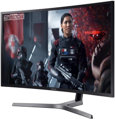 Самсунг представила 49-дюймовый геймерский монитор спропорциями 32:9