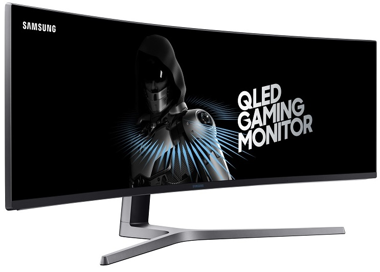 Самсунг произвела ультраширокий 49-дюймовый монитор Самсунг CHG90 для игроков