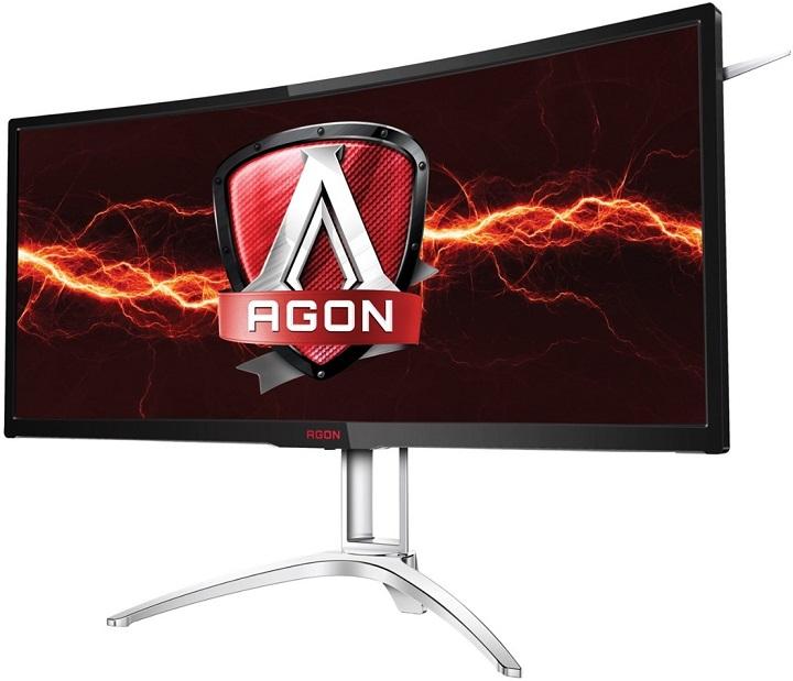 AOC представила большой 35-дюймовый изогнутый монитор для игроков
