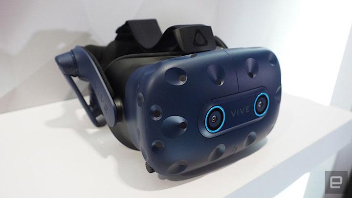 HTC показала новый шлем виртуальной реальности Vive Pro Eye