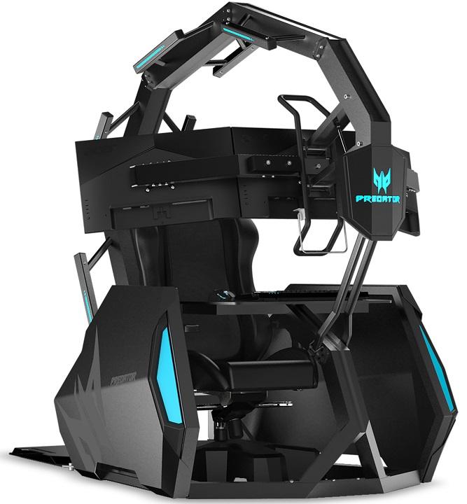 Acer Predator Thronos Air — геймерское кресло за четверть миллиона гривен