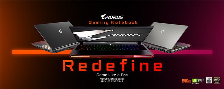 Gigabyte предлагает игровые ноутбуки Aorus для прогеймеров