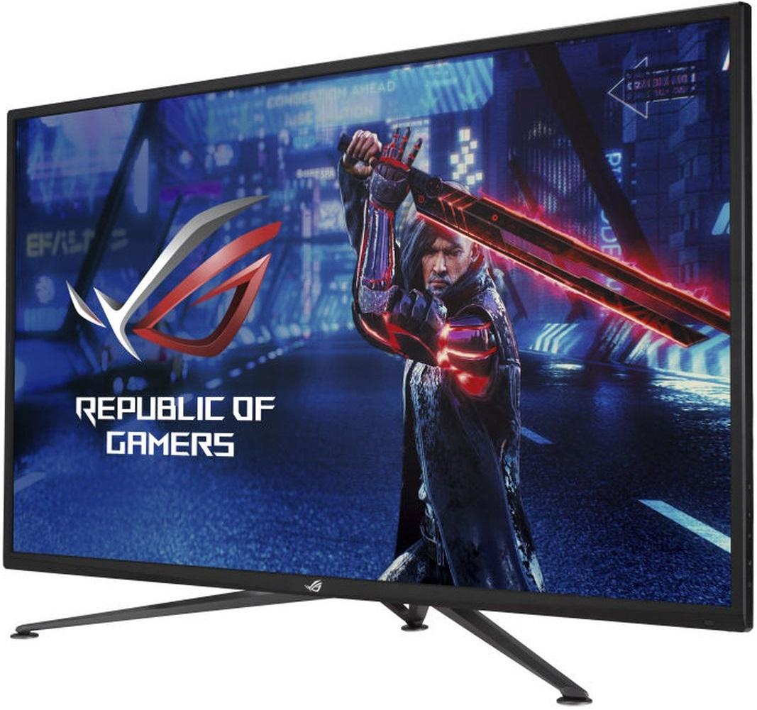 ASUS принимает заказы на 43-дюймовый 4K-монитор ROG Strix XG43UQ с частотой 144 Гц