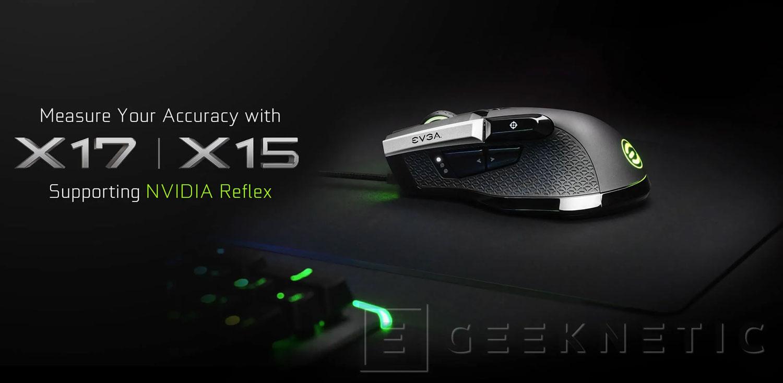 EVGA выпустила игровые мыши X17 и X15 с поддержкой Nvidia Reflex Latency Analyzer
