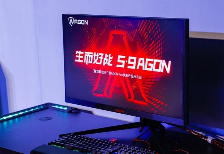 AOC представила игровой WQHD-монитор Agon AG274QXM с подсветкой Mini LED