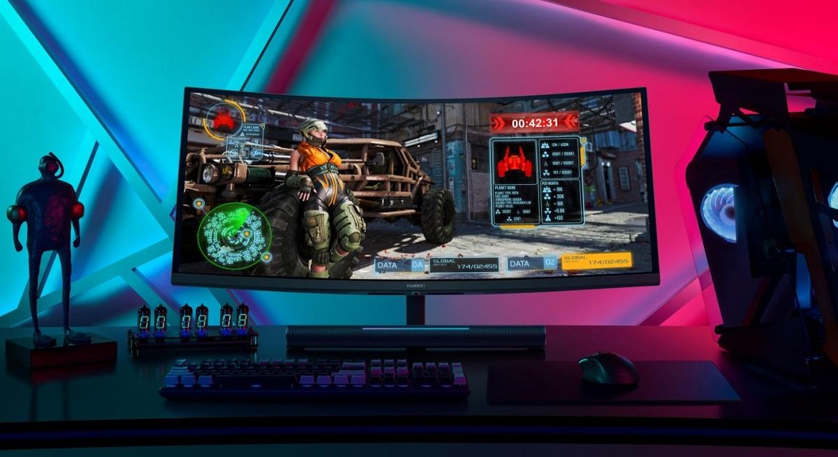 Huawei готовится к поставкам игрового монитора MateView GT на украинский рынок