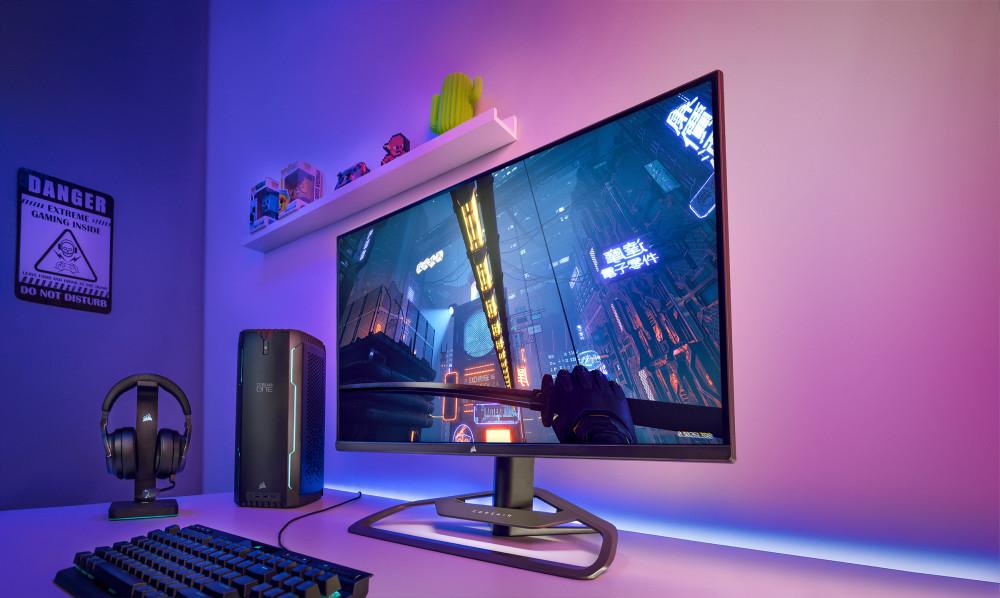 Corsair выходит на рынок игровых мониторов с 32-дюймовым Xeneon 32QHD165