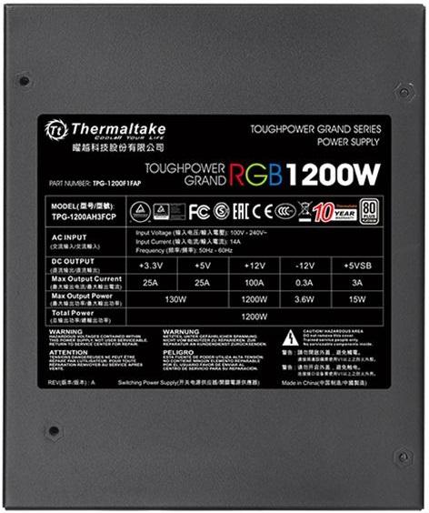 Toughpower Grand RGB Platinum
