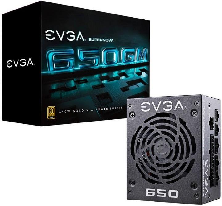 EVGA дебютирует на рынке блоков питания формата SFX с линейкой устройств SuperNova GM