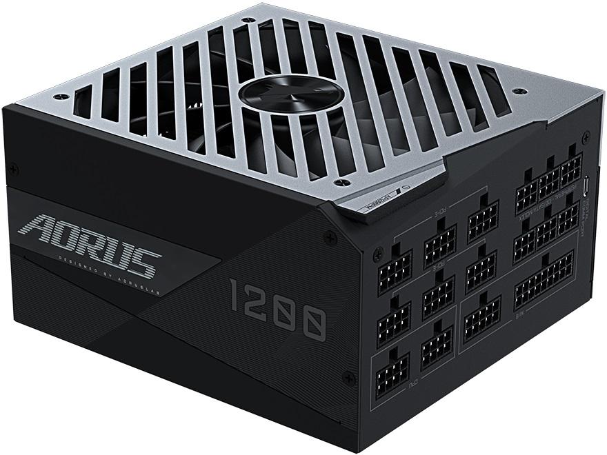 Gigabyte оснастила ЖК-дисплеем блок питания Aorus GP-AP1200PM