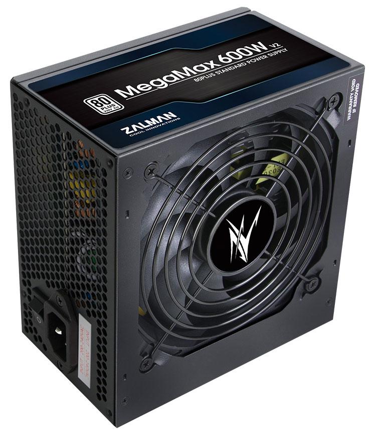 Zalman анонсировала выход блоков питания MegaMax V2