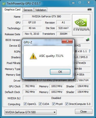 GPU-Z 0.5.8