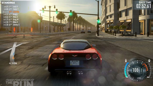 Состоялся релиз игры Need for Speed: Most Wanted (2012