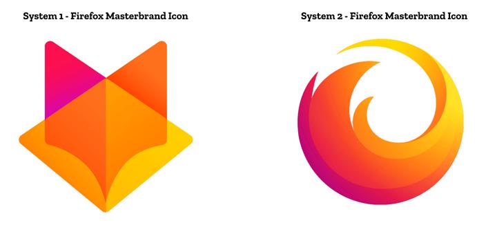 Новый логотип продуктов Mozilla