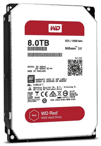 Western Digital без огласки перевела HDD серии Red на медленную технологию SMR