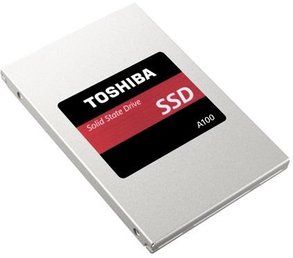 Toshiba выпускает недорогие SSD-накопители A100