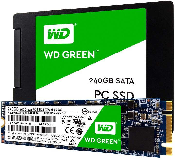 Выпущены первые SSD под брендомWD