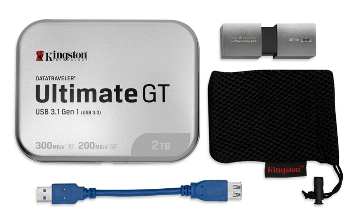 DataTraveler UltimateGT 2 ТБ— флеш-накопитель отKingston за $2300