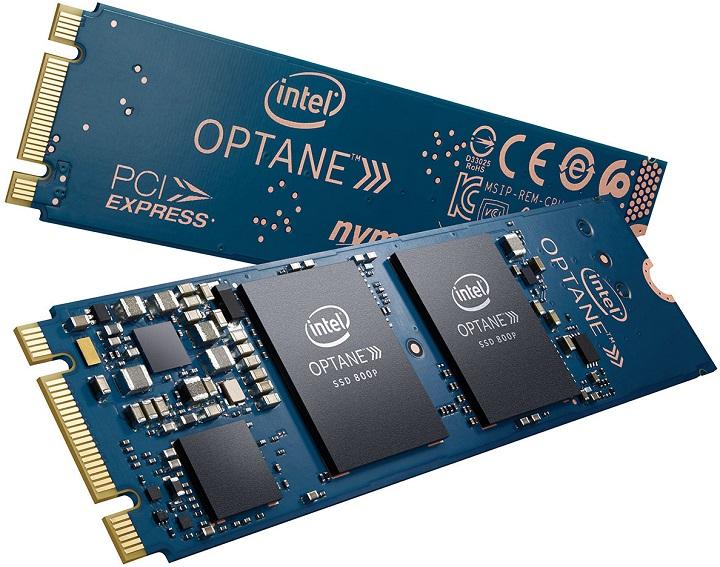 Intel заявляет о выходе 58 ГБи118 ГБOptane 800P SSD