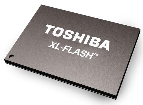 Toshiba Memory представила новейшую память XL-FLASH