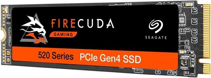 Seagate предлагает NVMe-накопители FireCuda 520 с поддержкой PCI-E 4.0