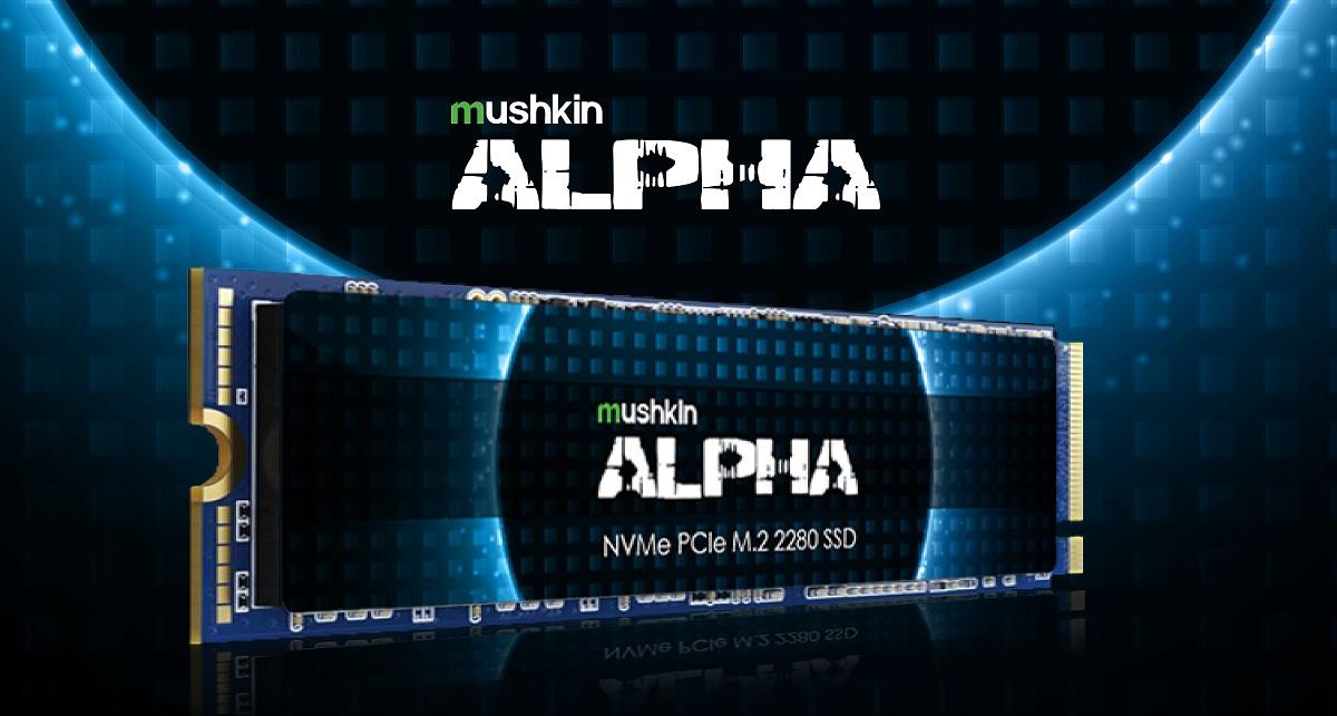 Серия NVMe-накопителей Mushkin Alpha представлена устройствами ёмкостью 4 и 8 Тбайт