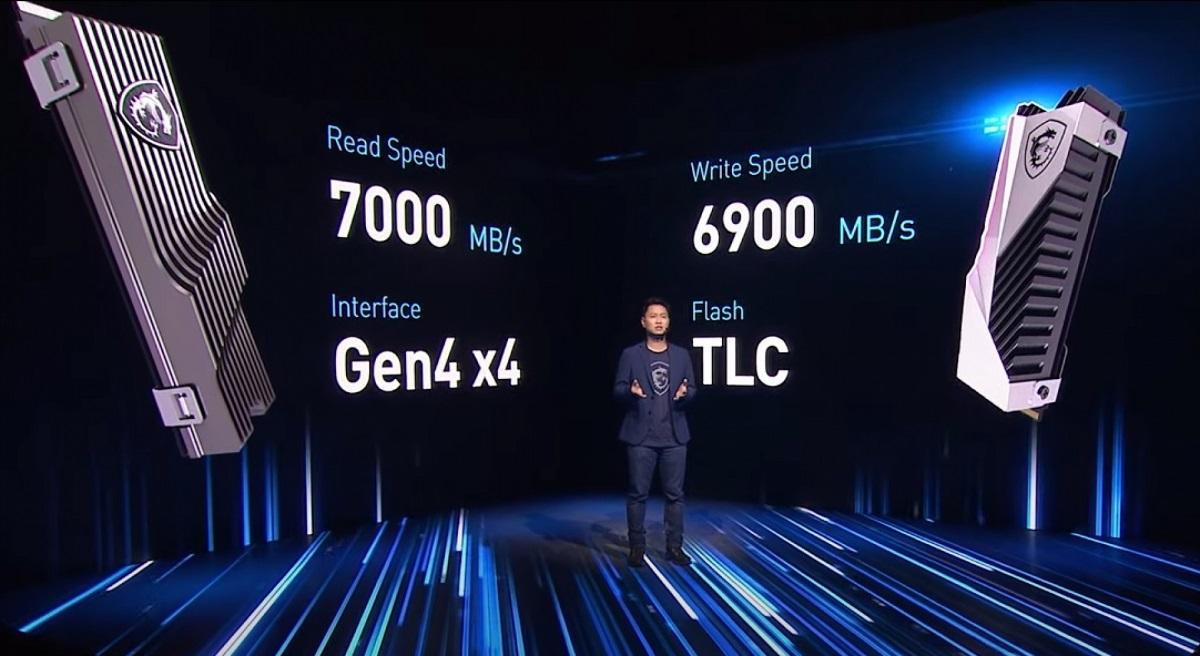 MSI выходит на рынок NVMe-накопителей для геймеров
