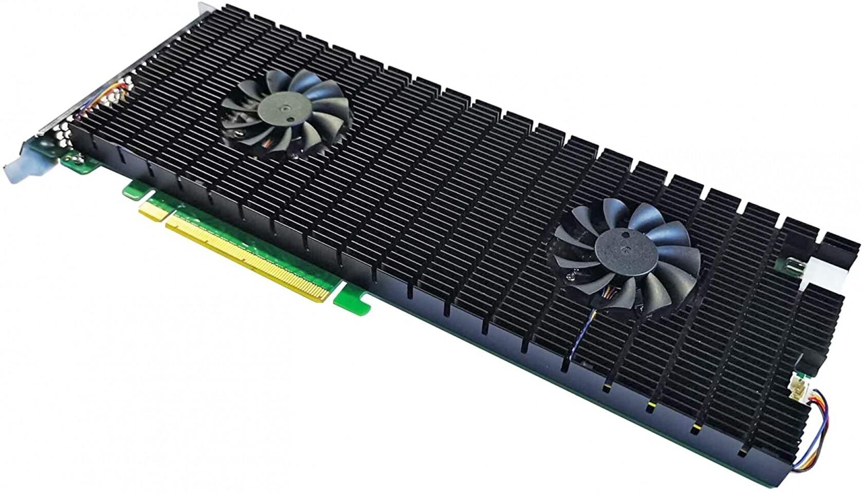На подходе 64-терабайтный накопитель Sabrent RocketQ Battleship с интерфейсом PCI-E 4.0 x16