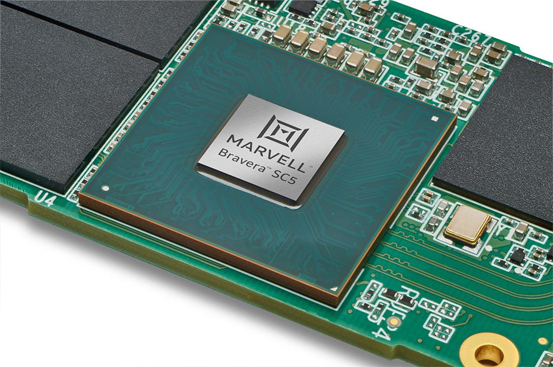 Marvell представила SSD-контроллеры с интерфейсом PCI Express 5.0