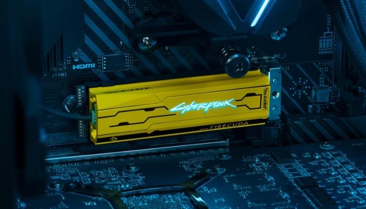 Seagate выпустила терабайтный NVMe-накопитель FireCuda 520 Cyberpunk Limited Edition