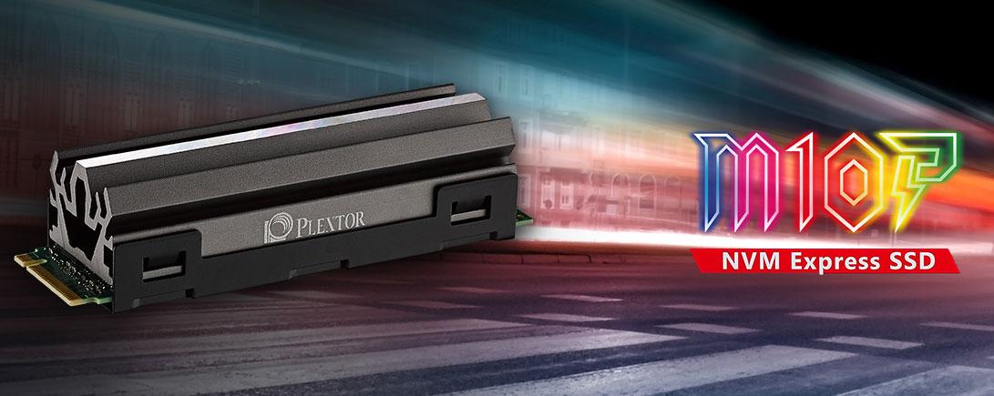 Plextor выпустила NVMe-накопители M10P с интерфейсом PCI Express 4.0