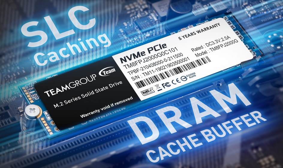 Team Group представила NVMe-накопители MP34Q объёмом до 8 Тбайт