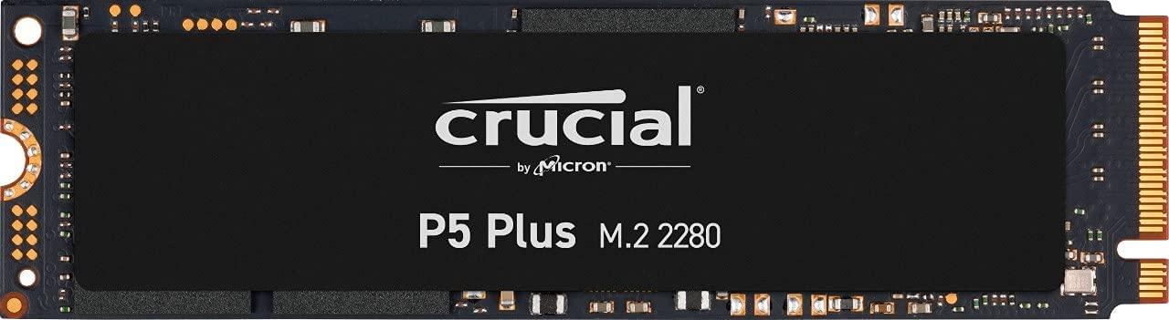 Crucial предложит NVMe-накопители P5 Plus с интерфейсом PCI-E 4.0 x4