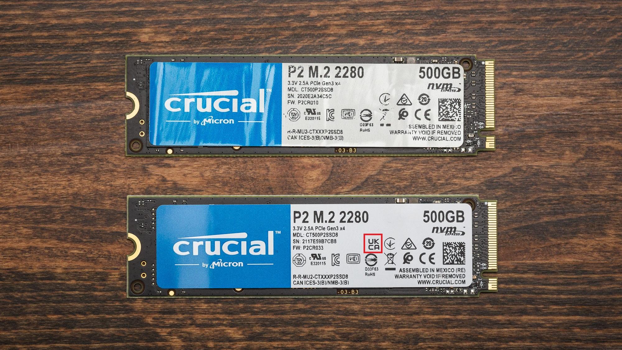 NVMe-накопитель Crucial P2 с QLC-памятью оказался в четыре раза медленнее версии на TLC