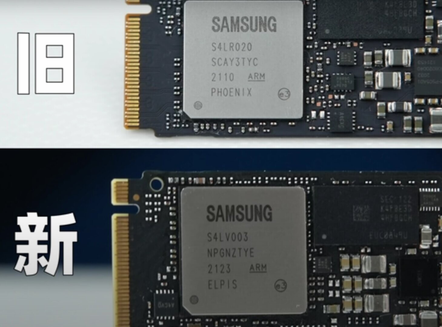 Samsung без огласки сменила платформу NVMe-накопителя 970 EVO Plus
